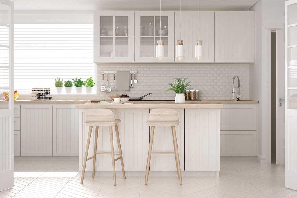 fine white kitchen wood benchtop 10